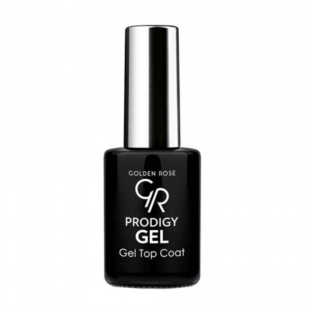 Top Coat Golden Rose Prodigy cu efect de Gel, 10.7 ml