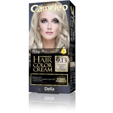Vopsea de par Delia Cosmetics Cameleo, 9.13 champagne blond