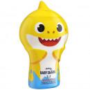 Gel de dus si sampon 2 in 1 pentru copii Baby Shark 400 ml