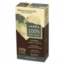 Vopsea de par bio, Venita, 100% Natural, nr. 3.0 black chocolate