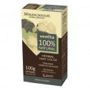 Vopsea de par bio, Venita, 100% Natural, nr. 3.0 black chocolate