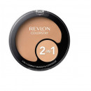 Fond de ten compact & corector Revlon ColorStay 2-in-1 220 Natural Beige, 11 g