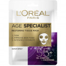 Masca servetel antirid pentru regenerare L'Oreal Paris Age Specialist 55+