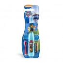 Periuta de dinti electrica copii Paw Patrol, baieti, rezerva si baterii incluse