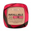Pudra Compacta L'Oreal Paris Infaillible 24H Fresh Wear Powder, 9g