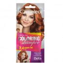 Sampon colorant Delia Cosmetics Coloring Shampoo nr 7.4 copper red