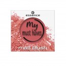 Blush Essence my must haves matt blush 01