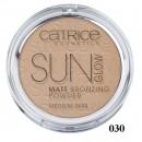 Pudra bronzanta mata Catrice Sun Glow Matt Bronzing Powder 030 Medium Bronze