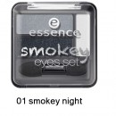 Fard de pleoape Essence Smokey Eyes set 01 smokey night