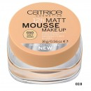 Fond de ten Catrice Matt 12h Mousse make-up 10 Soft Ivory