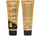 Masca de fata peel off Gold Pielor, 125 ml