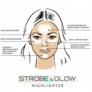 Pudra Iluminatoare Revers Cosmetics Strobe & Glow Highlighter 01 Unicorn, 8g