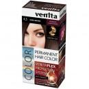 Vopsea de par permanenta Venita PLEX nr. 4.5 dark brown