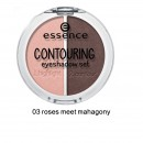 Fard de pleoape Essence Contouring eyeshadow set 03