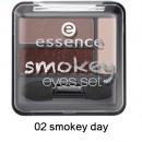 Fard de pleoape Essence Smokey Eyes set 02 smokey day