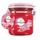 Scrub de corp Delia Cosmetics Dairy Fun cu capsuni