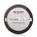 Pudra Iluminatoare Revers Cosmetics Strobe & Glow Highlighter 01 Unicorn, 8g