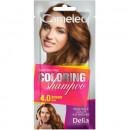 Sampon colorant Delia Cosmetics Coloring Shampoo nr 4.0 brown