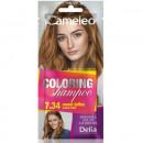 Sampon colorant Delia Cosmetics Coloring Shampoo nr 7.34, Sweet Toffee