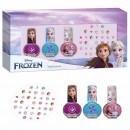Set oja pentru copii, Frozen, cu abtibilduri unghii