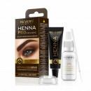 Vopsea sprancene, Henna Pro Colors Revers, Maro Inchis, 15ml