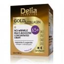 Crema de fata antirid Delia Cosmetics multi-booster Gold Collagen