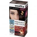 Vopsea de par permanenta Venita PLEX nr 3.0 black chocolate