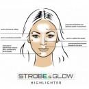 Pudra Iluminatoare Revers Cosmetics Strobe & Glow Highlighter 02 Eternal, 8g