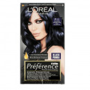 Vopsea de par permanenta cu amoniac L'Oreal Paris Preference P12 BlueE Black Pearl, 174 ml
