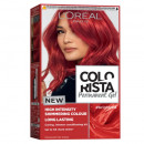 Vopsea gel de par, L'Oreal Paris Colorista , nuanta Bright red , 204 ml