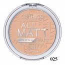 Pudra compacta Catrice All Matt Plus – Shine Control Powder 025 Sand Beige