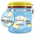 Scrub de corp Delia Cosmetics Dairy Fun cu lapte si miere