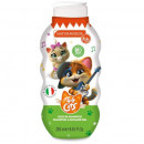 Gel de dus si sampon copii 44 Cats Natura Verde, 250 ml
