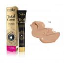Fond de ten cu acoperire mare Delia Cosmetics Total Cover, 25 g