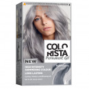 L'Oreal Paris Colorista Vopsea de par gel permanenta, nuanta silver grey, 204 ml