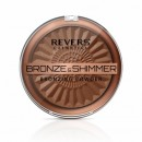 Pudra bronzanta si iluminatoare Revers BRONZE - SHIMMER nr 01