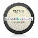 Pudra Iluminatoare Revers Cosmetics Strobe & Glow Highlighter 02 Eternal, 8g
