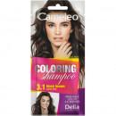 Sampon colorant Delia Cosmetics Coloring Shampoo nr 3.1 black brown