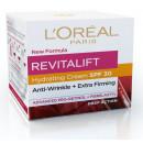 Crema de zi antirid hidratanta , L'Oreal Paris Revitalift, cu SPF30 pentru extra-fermitate, 50 ml