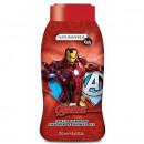 Gel de dus si sampon pentru copii Natura Verde Iron Man, 250 ml