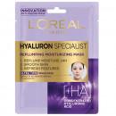 Masca servetel L'Oreal Paris Hyaluron Specialist hidratanta pentru volumul tenului, 32 g