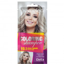 Sampon colorant Delia Cosmetics Coloring Shampoo nr 10.1 silver blond