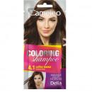 Sampon colorant Delia Cosmetics Coloring Shampoo nr 4.1 coffe brown