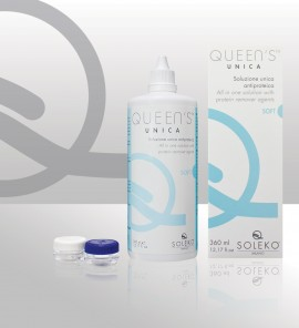 QUEENS UNICA 500ml cu SUPORT LENTILE INCLUS