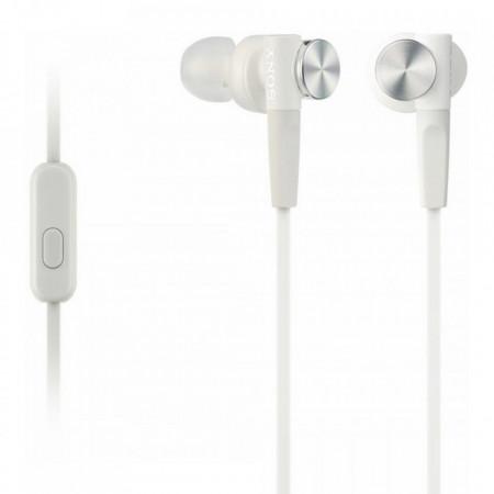 Casti audio in-ear Sony MDR-XB50APW, Control Telefon, Extra Bass, Alb