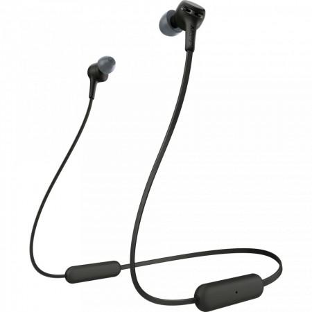 Casti In-Ear SONY WIXB400B, Bluetooth, EXTRA BASS, 15 ore autonomie, Microfon, Negru