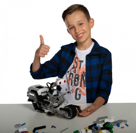 Kit robot educativ Abilix Krypton 8, 50 in 1, senzori inclusi, programabil