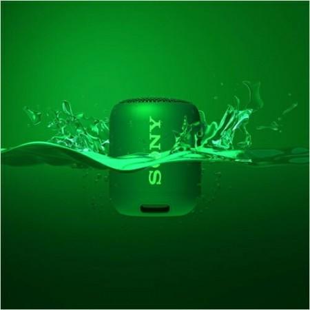 Boxa portabila Sony SRSXB12G, EXTRA BASS, Bluetooth, Rezistenta la apa IP67, Verde