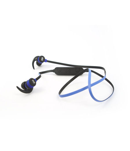 Casti wireless Xblitz Pure, bluetooth v4.1, A2DP, microfon incorporat, negru/albastru