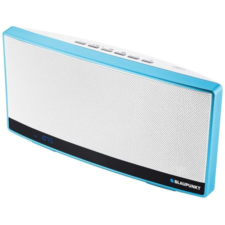 Boxa portabila bluetooth Blaupunkt BT10BL, NFC, FM, Mp3, Power bank, Blue
